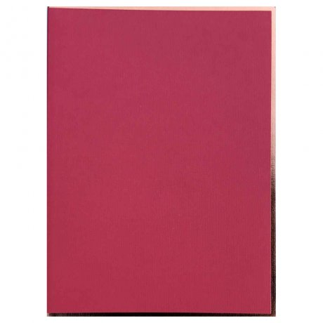 "Semikolon Notizbuch ""S"" Kupferkante rot 2"