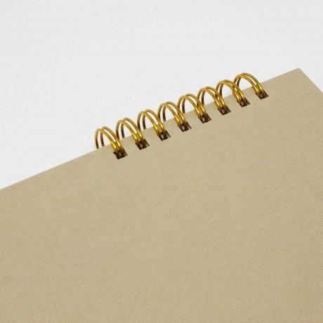 Ring Memo | Notizbuch von o-check-design beige 2