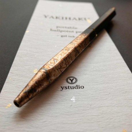 ystudio | Kugelschreiber aus Messing YAKIHAZU | limitierte Sonderanfertigung 2