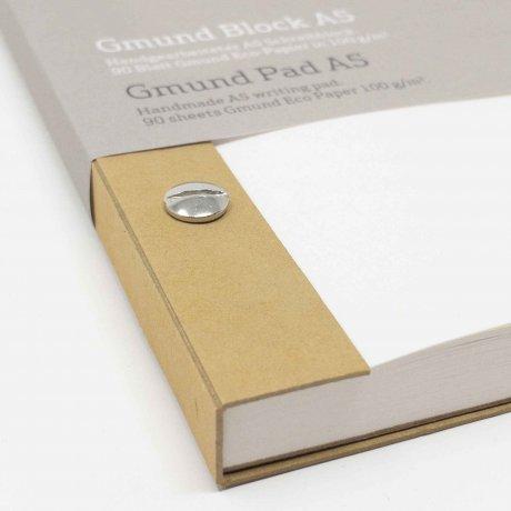 Gmund Block A5 Notizblock mit Schraubenbindung 2