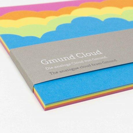 Gmund Notizblock Cloud Regenbogen 2