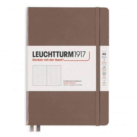 Leuchtturm1917 Notizbuch A5 mit Drehgriffel und penloop GRATIS Farbe warm earth 2