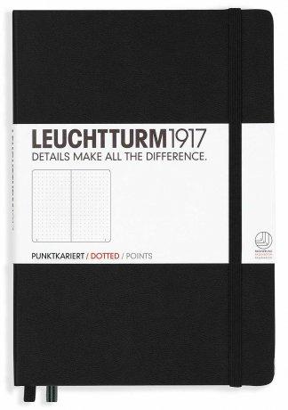 Leuchtturm1917 Notizbuch A5 mit Drehgriffel und penloop GRATIS Farbe schwarz 2