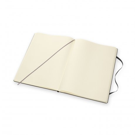 Moleskine Notizbuch A4 Hardcover schwarz blanko 2