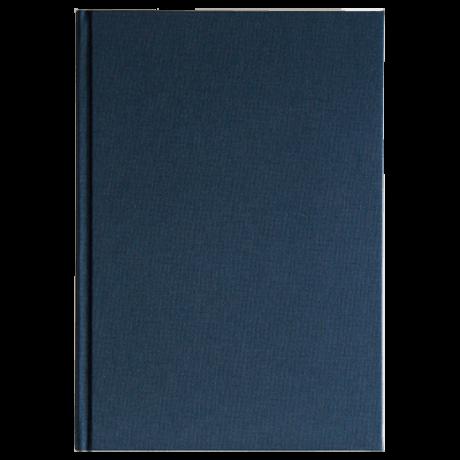 "Semikolon Classic Notizbuch ""M"" Leinen dunkelblau 2"