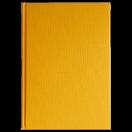"""Semikolon Classic Notizbuch """"M"""" Leinen gelb 2"""
