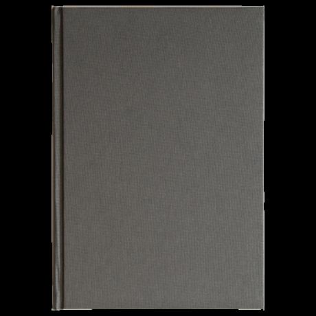 "Semikolon Classic Notizbuch ""M"" Leinen grau 2"