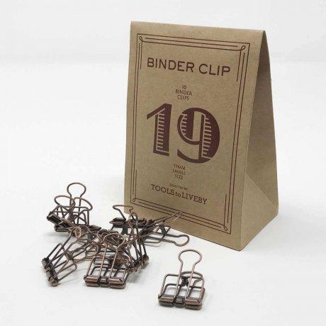 Binder Clips klein bronze 2