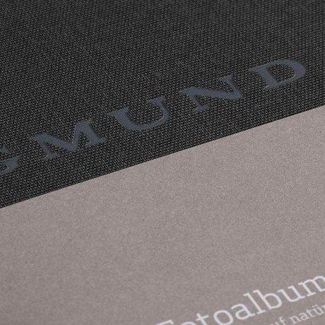 Gmund Papier Fotoalbum Leinen graphite 2