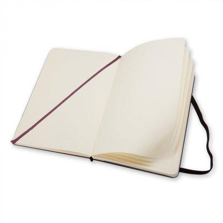 """MOLESKINE® Notizbuch """"L"""" schwarz blanko 3"""