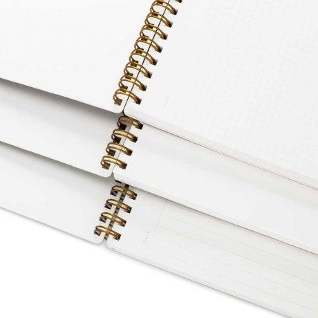 Appointed Notizbuch dunkelgrün blanko 3