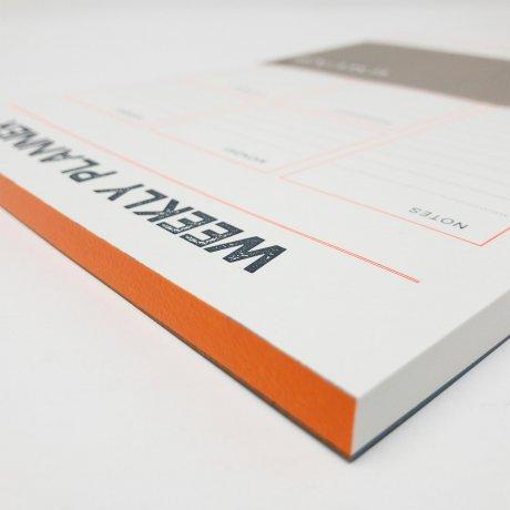 Gmund Letterpress Weekly Planner 3