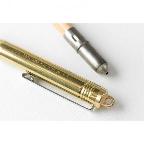Traveller's Company Kugelschreiber aus Messing 3
