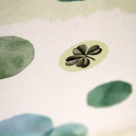 Grußkarte Kleeblatt 3