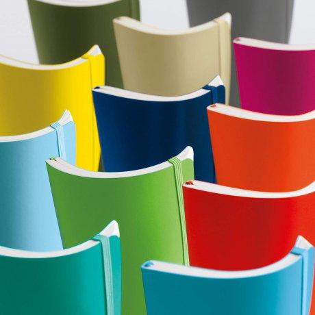 Leuchtturm1917 Paperback Softcover orange liniert 3