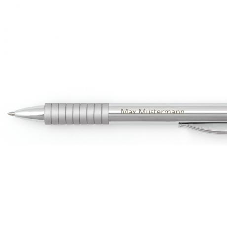 Faber-Castell Kugelschreiber Essentio Metall glänzend 3