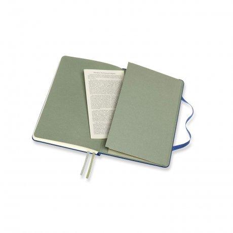 MOLESKINE® Two-Go Notizbuch Leineneinband blau 3