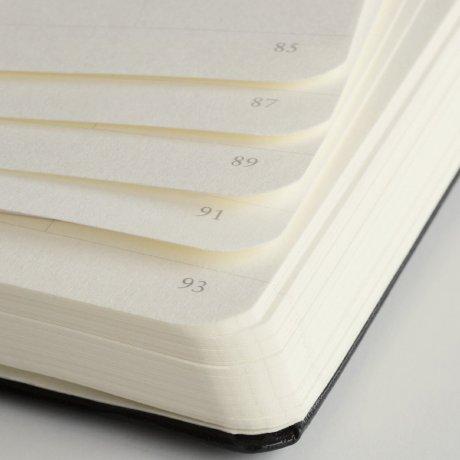 Leuchtturm1917 Notizbuch A4+ slim schwarz blanko 3