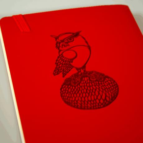 Leuchtturm1917 Notizbuch Softcover rot blanko 3