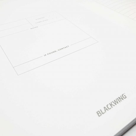 Notizbuch Blackwing 602 Summit Notebook dotted Softcover B5 3