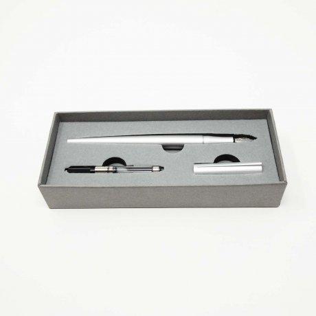 Origin Füllfederhalter von Ten Stationary | Silber 3