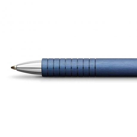 Faber-Castell Kugelschreiber Essentio Aluminium blau 3