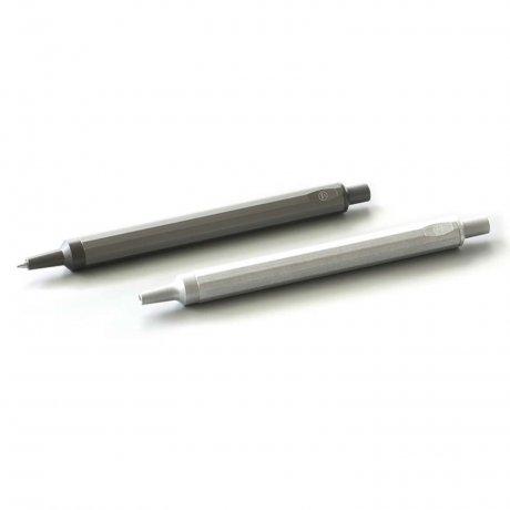 HMM Kugelschreiber | Aluminium grau 3