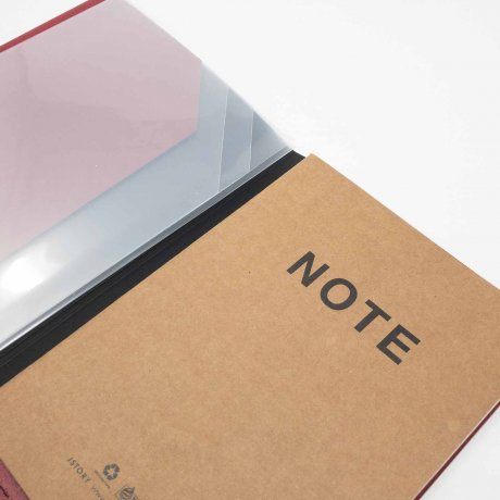 File Note | Notizbuch mit Aufbewahrung von jstory 3