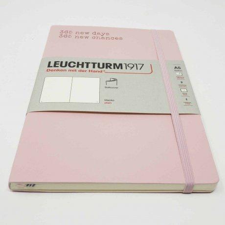 "Leuchtturm1917 Notizbuch Softcover ""M"" puder blanko 3"