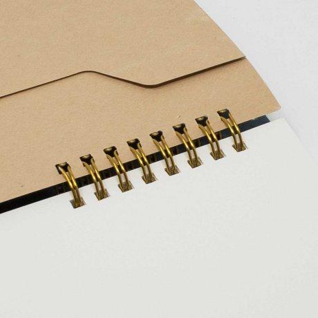 Ring Memo | Notizbuch von o-check-design beige 3
