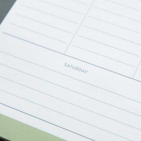 Weekly Planner - Wochenübersicht gemustert von Haferkorn & Sauerbrey 3