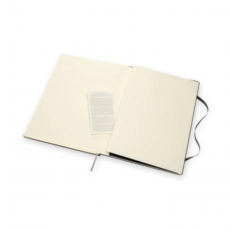 Moleskine Notizbuch A4 Hardcover schwarz blanko 3