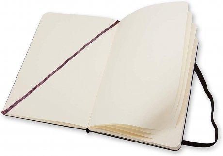 """MOLESKINE® Notizbuch """"M"""" Hardcover schwarz blanko 3"""