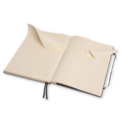MOLESKINE® Notizbuch A4 schwarz kariert 3