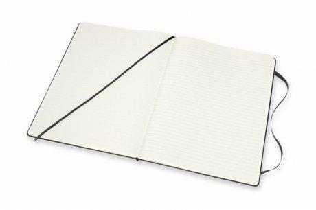 MOLESKINE® Notizbuch XL Hardcover schwarz blanko/liniert 3