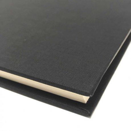 "Semikolon Classic Notizbuch ""M"" Leinen schwarz 3"