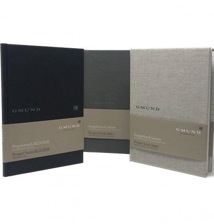 Gmund Projektbuch Leinen graphite A4 (midi+) 4