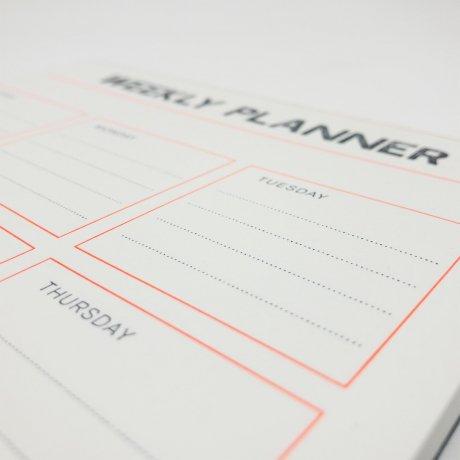 Gmund Letterpress Weekly Planner 4