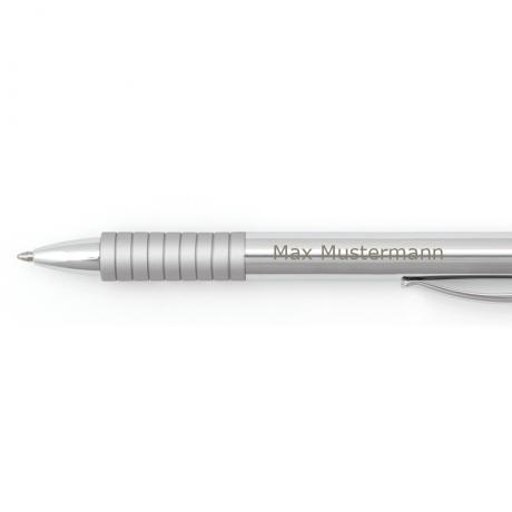 Faber-Castell Kugelschreiber Essentio Metall glänzend 4