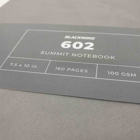 Notizbuch Blackwing 602 Summit Notebook dotted Softcover B5 4