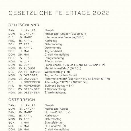 Leuchtturm 1917 Wochenkalender/Notizbuch 2022 Deutsch anthrazit 4