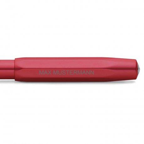 Kaweco AL SPORT Füller Deep Red | Federstärke M | personalisierbar 4