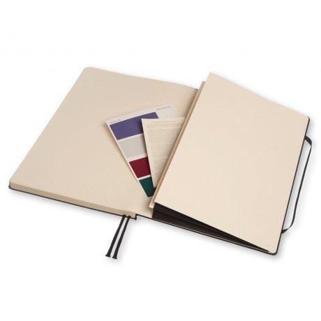MOLESKINE® Notizbuch A4 schwarz kariert 4