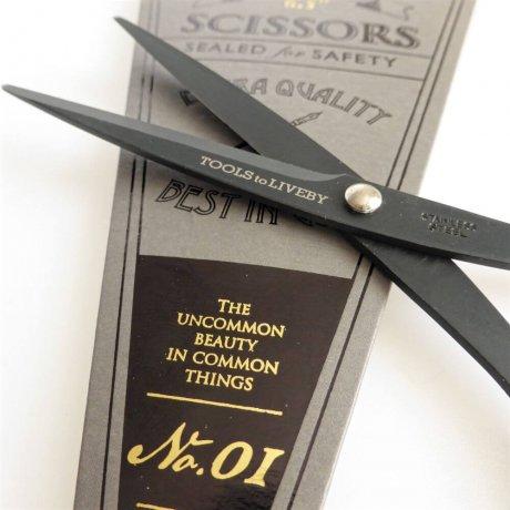 Papierschere schwarz 16,5 cm 4