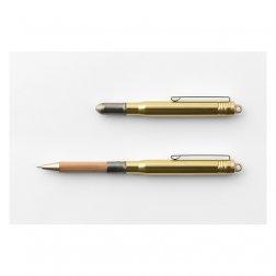 Traveller's Company Kugelschreiber aus Messing